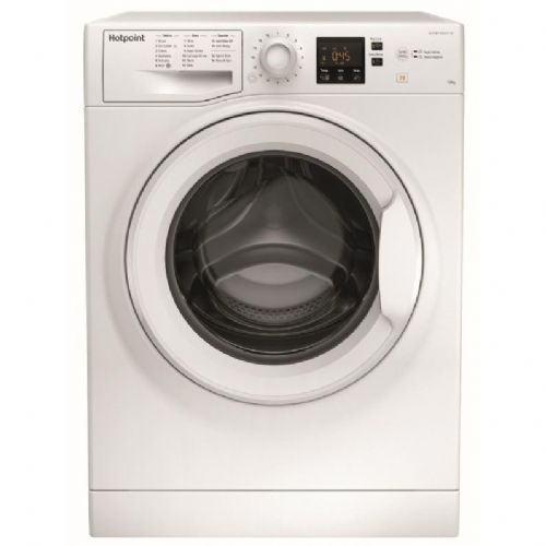 HOTPOINT NSWM1043CW White 10KG Washing Machine 1400rpm